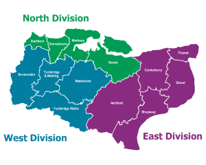 Kent Police - Divisions